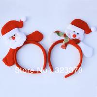 Christmas snowman headband hair bands hair pin hairpin hair accessory child staghorns decoration girls