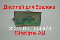 starline A9 LCD display/Lcd display for starline A9 remote control starter  free shipping