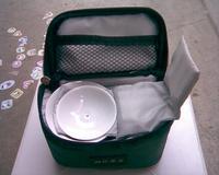 Set dehua porcelain jade travel tea 10 piece set kung fu tea set portable travel tea