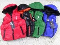 Retail 2013 Hot Kids Winter Zipper Waistcoat hoody Down Vest Boys Vest girls Vest Children's vest