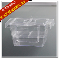 Free shipping Aquarium ornamental fish double layer box hatching box fighting fish isolation box s