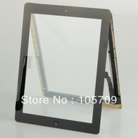 New Black Digitizer touch screen home button assembly Fit For ipad 3 B0116