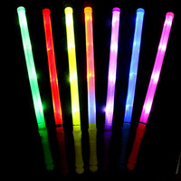 FREE SHIPPING  7PCS  New Year's party supplies electronic light sticks concert props bar LED fluorescent light stick Flash stick