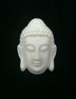 Bone carvings Buddha head   Pendants Hanging ornaments  