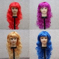 Multicolour wig female cosplay masquerade 6