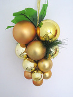 Christmas grape bunch Medium blended-color Christmas decoration christmas decoration holiday decoration christmas tree
