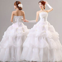 Cheongsam slimming princess wedding dress high waist wedding dress maternity wedding dress