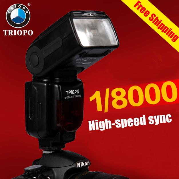 Вспышка для фотокамеры Triopo Tr /981c Speedlight Canon DSLR 70D 7 d /ttl  TR-981C вспышка для фотоаппарата canon speedlight 430ex iii rt 0585c003