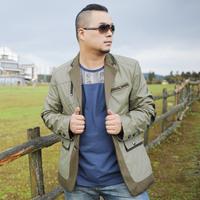 Plus Size 3XL-6xl 7xl (chest 144cm) Man Suit 2014 New Spring Autumn Dress Men's Jacket Clothing Slim Blazer Male Coat Outerwear