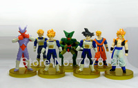 2013 New Dragon Ball Z  Action Figures 7PCS/Set 13CM  Best gifts Collections  Free Shipping