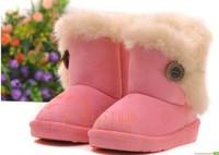 new HOTchildren Snow Boots Thicken Winter Children Shoes For baby Kids child snow boots 4 colour