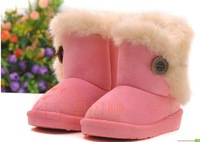 new HOTchildren Snow Boots Thicken Winter Children Shoes For baby Kids child snow boots 4 colour