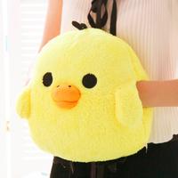 Bear dual hand pillow chick pillow cushion hand warmer muff hand po
