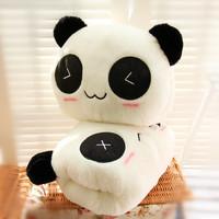 Pillow hand warmer pillow cushion plush toy panda doll gift