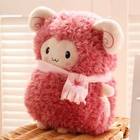 Little sheep hand pillow hand po sheep doll lovers pillow cushion nap pillow gift
