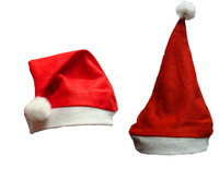 48pcs/lot cheap Non-woven fabric christmas hat