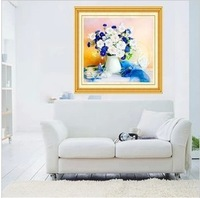 Free shipping Ribbon embroidery color paintings new living room living room living room love accompanied Stitch 3D printing