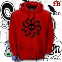 Quality sweatshirt op thickening brushed hoodie lovers sweatshirt