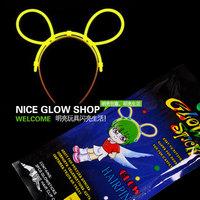 Free shipping, Disposable niceglow hairpin accessories neon stick set luminous stick flash stick