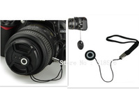100pcs Lens Cap Cover Keeper Holder String Leash Strap For SLR Cameras Free Shipping +Tracking Number For SLR Cameras