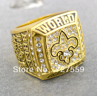 Fans Articles Fashion The New Orleans Saints In The Super Cup Championships Sports Ring Fans Memorial Jewelry Free Shipping
