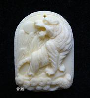 Bone carvings Tiger   Pendants Hanging ornaments  