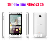 star one mini phone mtk6572  4.0inch screen andorid 4.2 1.3g cpu+512M RAM+4g ROM+5MP Camera+gps+3g smart phone