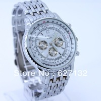 Free Shipping New Luxury Fabulous Gents Men's Popular Quartz Wrist Watch White