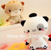 New 2013 Christmas Children Birthday Gift Baby Soft Stuffed Plush Doll Toys for girls Cute Cat Free Shipping