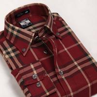 Galeoid u-shark men's clothing spring and autumn male casual plaid shirt Men long-sleeve shirt bmm003