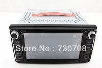 "6.2"" 2Din InDash Car DVD Player for Toyota RAV4 ALPHARD PREVIA FJ Cruiser HIACE GPS Navigation Radio Bluetooth TV RDS MAP Stereo"