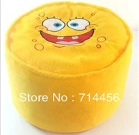 Free shipping  1pc Spongebob squarepants  inflatable stool   cartoon plush inflatable  Pouf Chair  Lovely Pneumatic Stools