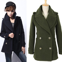 2013 plus size mm autumn clothing woolen outerwear female medium-long woolen overcoat autumn and winter outerwear
