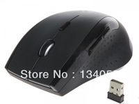 Black   2013 new gift cheap USB 2.4Ghz  Optica Wireless Mouse and mice, gaming mouse for PC Laptop Computer Free shipping