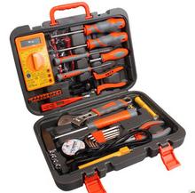 Free shipping, AK 34 pcs hardware tools suit telecommunications toolbox household hardware electrical tool kit