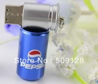 Free shipping!!! Best gift usb flash  metal tin usb flash drive pen drive 2GB-32GB