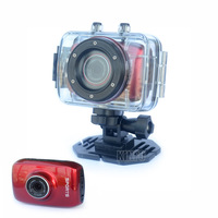 2013 Hot HD 720P 2 inch Touch Screen Sport DVR Digital Camera with Drive Recorder Waterproof Case Free Drop Ship