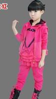 2014 autumn children's clothing female child casual three piece set sports set child girl sportswear
