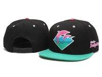 Pink Dolphin Snapbacks caps men's Fashion Adjustable hats black Cheap