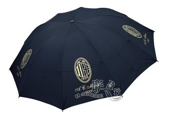 ACmilan Football  Windproof Automatic Open Close Folding Umbrella