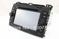 "7"" In Dash 2-Din Car DVD Player for Toyota Prado 2002-2009 + GPS Navigation Free MAP Navi Radio Bluetooth TV Stereo Auto Audio"