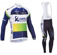 2013  New Design Winter Fleece/Thermal Orcia Cycling Jersey(Maillot)+Bib Pant(Culot)/Bicycle Wear/ Bikling Clothing/Cycle