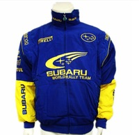 SUBARU long-sleeved blue F1 racing suits racing suits long-sleeved jacket coat jacket LOGO A083