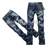 Free Shipping!Premium quality!famous brand jeans men 2013 100% cotton jeans men true jeans mens clothes brand pants Size 29-40