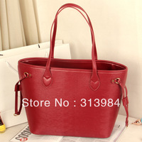 Free Shipping 2013 new Europe and America tideway toothpick water ripple women handbag