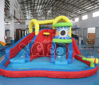 Top selling inflatable water slide,water park,water slide with cannon