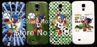 free shipping High quality Fashion the cute cartoon World Cup mascot Armadillo back Hard Case for Samsung Galaxy S4 i9500
