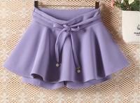 Wholesale grid Women winter clothes 13 original Korean version high waist dress tutu woman skirt