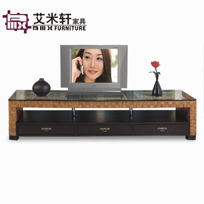 Meuble tv avec rangement noir solutions pour la for Meuble tv ellipse 00381