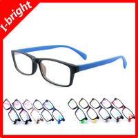 I-bright fashion quality light optical eyeglasses frame man woman unisex plain mirror male matte color wholesale free shipping